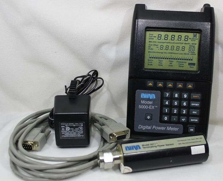 Digital Rf Power Meters : Bird ex dpm digital power meter used w