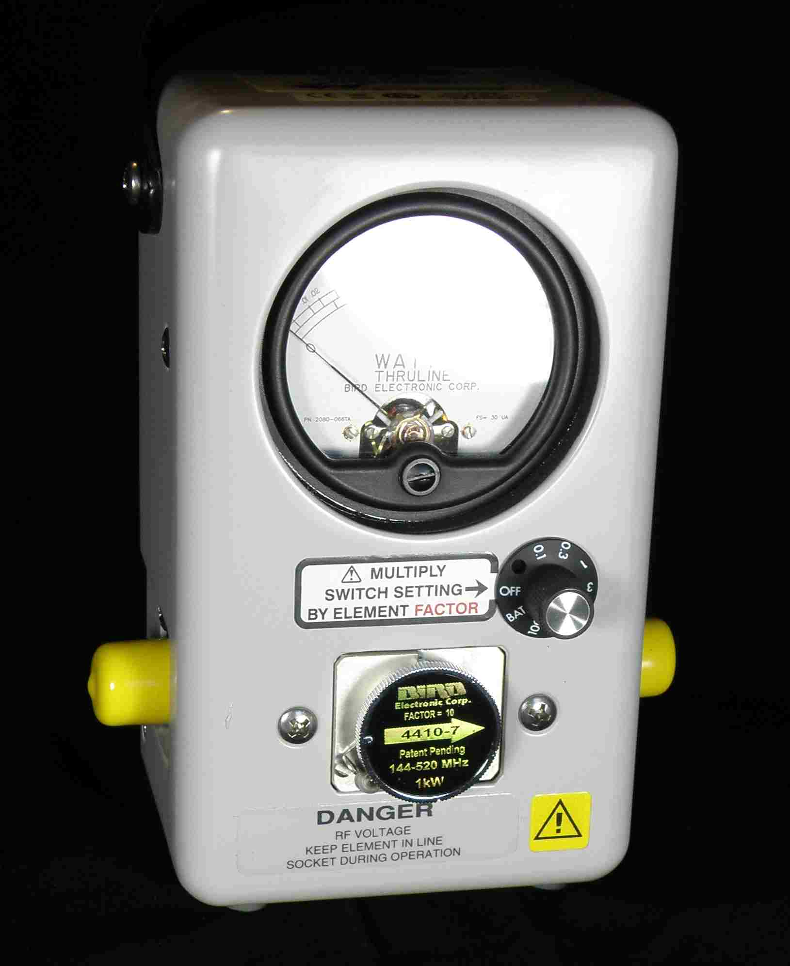 Rf Power Meter : Bird a rf multi range broadband power meter