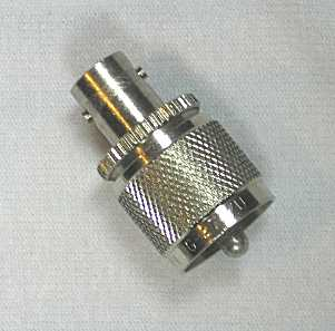 Adapter UHF(M) to BNC(F) rf adapter Type  UHF to BNC